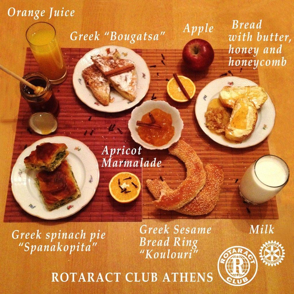 Rotaract Club Athens Greek Traditional Breakfast Project Traditional Breakfast Greek Spinach Pie Greek Breakfast