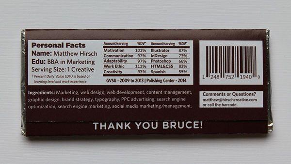 Chocolate Bar Resumes Met Afbeeldingen Creatief Chocolade
