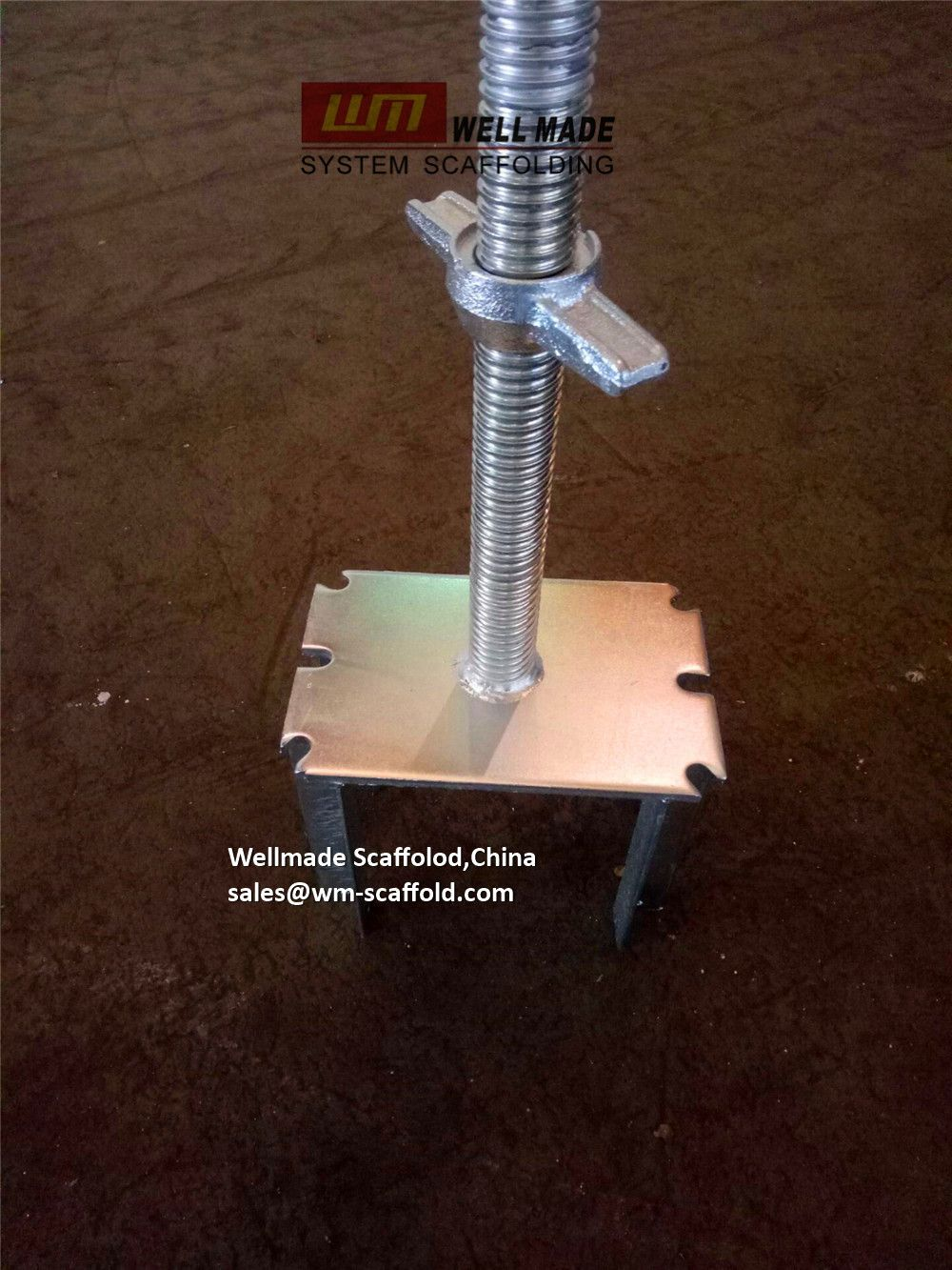 China Leading OEM Scaffolding Manufacturer: Screw Jack Fork