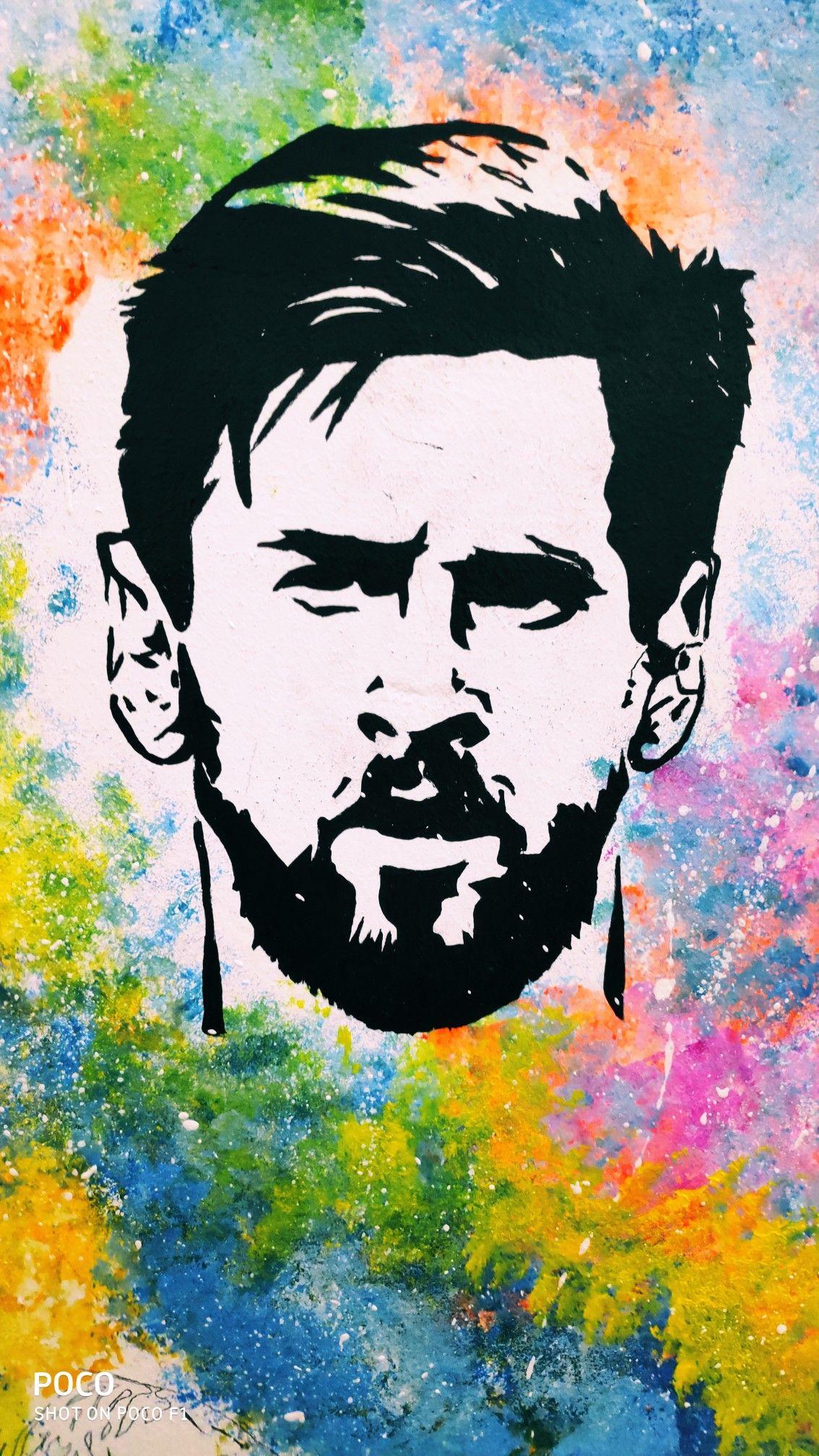 Messi Wall Art Messi Art Lionel Messi