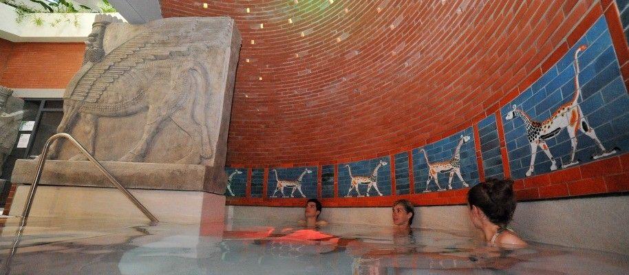 Le jardin des bains argel s gazost balneo bains - Thermes argeles gazost jardin bains ...