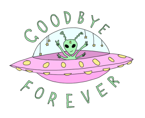 Namaste Banners Mais Space Cadet Alien Drawings Overlays Tumblr