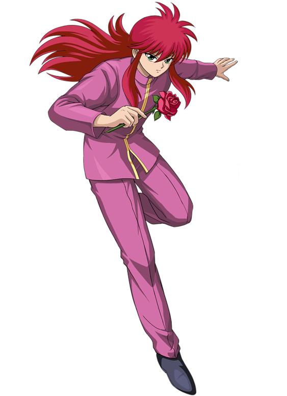 Yoko Kurama Yuyu Hakusho Yuyu Yu Yu Hakusho Personagens