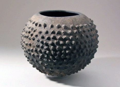 Earthenware Vessel from Burkina Faso, William Itter Collection of African Pottery