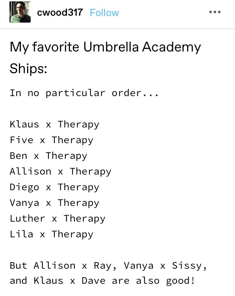 That S Funny Cause I Was Just About To Say The Same Thing Funny Umbrella Umbrella Academy