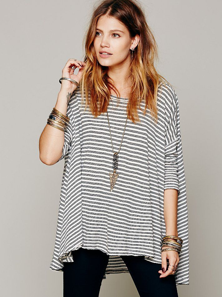 Free People We The Free 3/4 Circle In The Sand Tee , €66.25