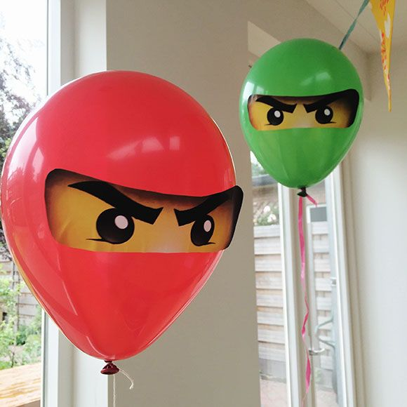 Feestje Ninjago Lego Partijtje Verjaardag Jarig