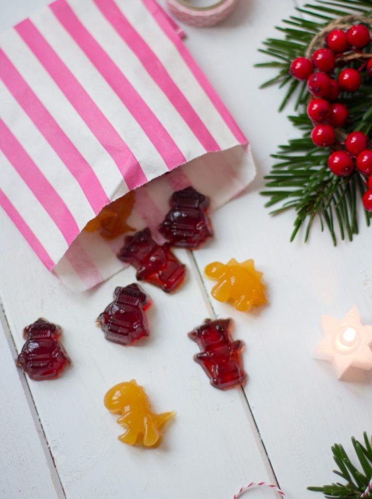 DIY Gummibärchen – kleines Geschenk zu Weihnachten