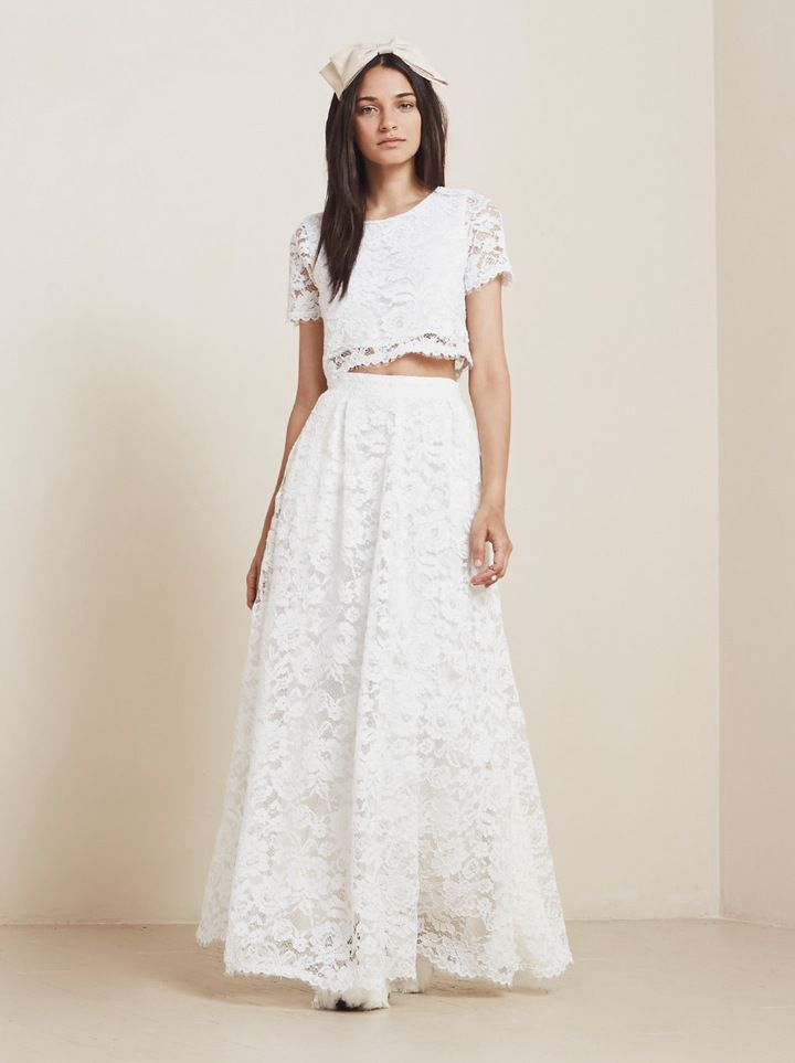 Image Result For Two Piece Wedding