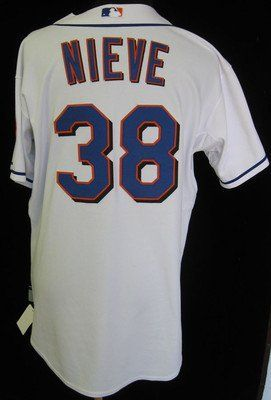 2010 New York Mets Fernando Nieve #38 Game Used White Home Jersey - Game Used MLB Jerseys by Sports Memorabilia. $147.61. 2010 New York Mets Fernando Nieve #38 Game Used White Home Jersey