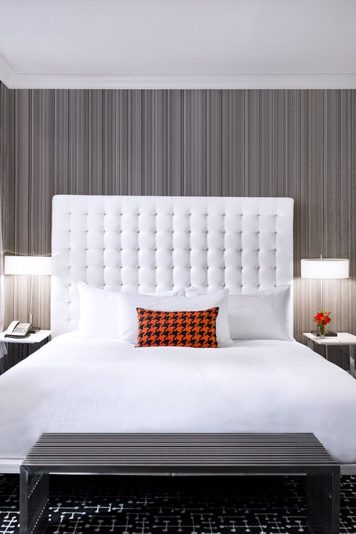 Ultra modern bedroom interior design the moderne hotel features quirky ultramodern digs inspired by s