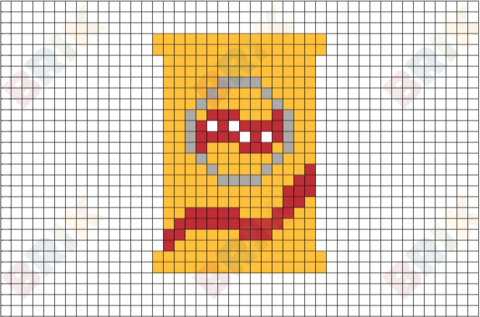 Potato Chips Pixel Art Pixel Art Lego Art Pixel Art Design