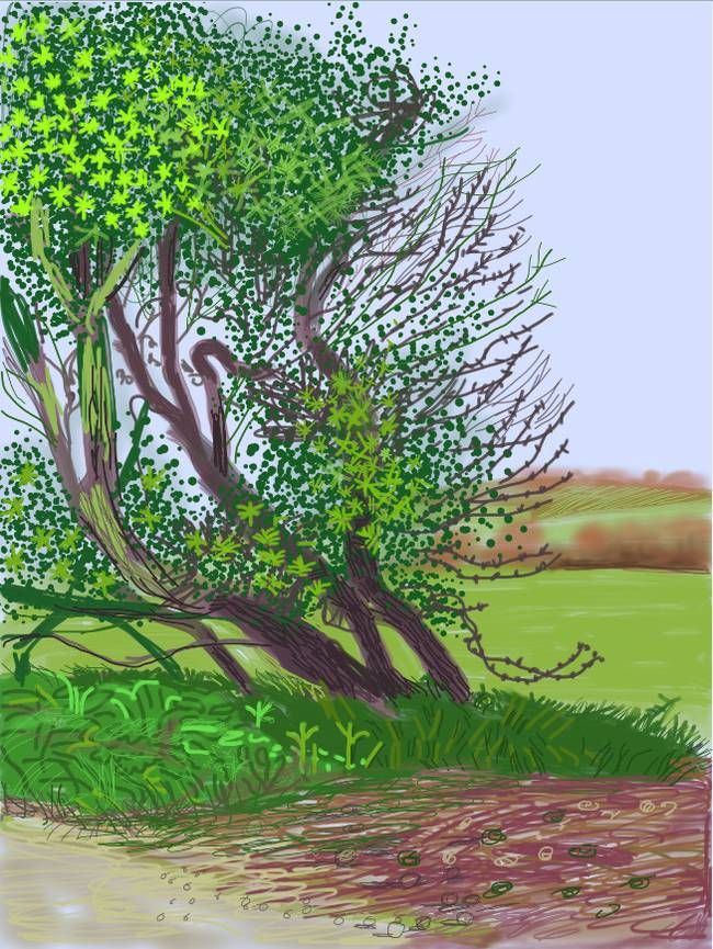 Stunning English Landscape Paintings by David Hockney...Made With ...