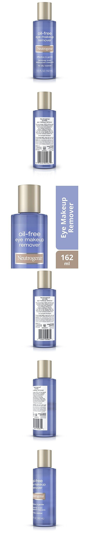 Neutrogena Oil Free Eye Makeup Remover 5 5 Fl Oz Eye Makeup Remover Oil Free Eye Makeup Remover Makeup Remover