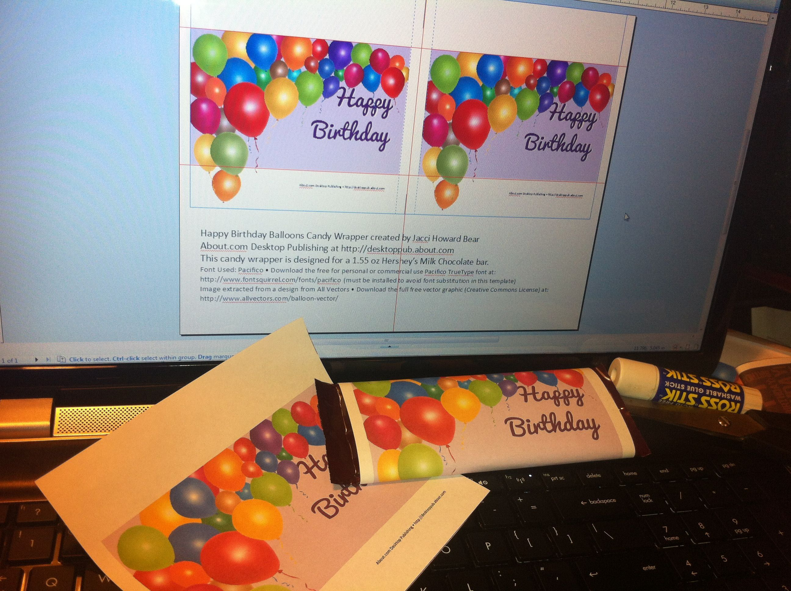 Candy Wrapper Templates Free Download | ... Ehow hershey s hershey ...