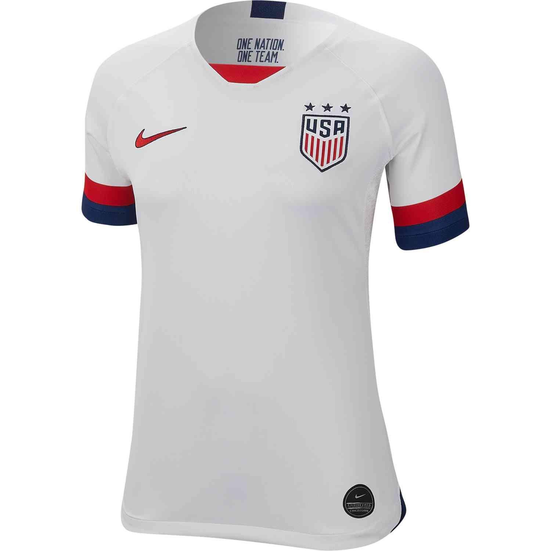 cd09237fb 2019 Womens Nike USWNT Home Jersey | World Cup Soccer Jerseys & Gear ...