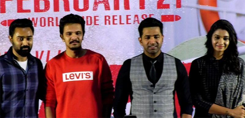 Arun Vijay, Priya Bhavani Shankar Speech At Mafia Movie Press Meet