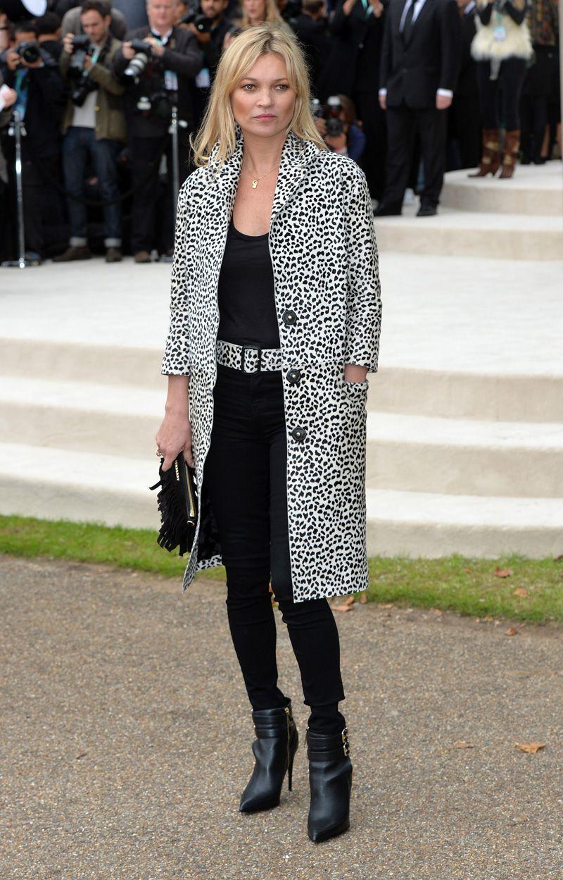 Kate Moss - look P&B