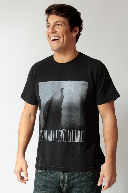 Os humildes serão exaltados - Masculino - Camisetas cristãs