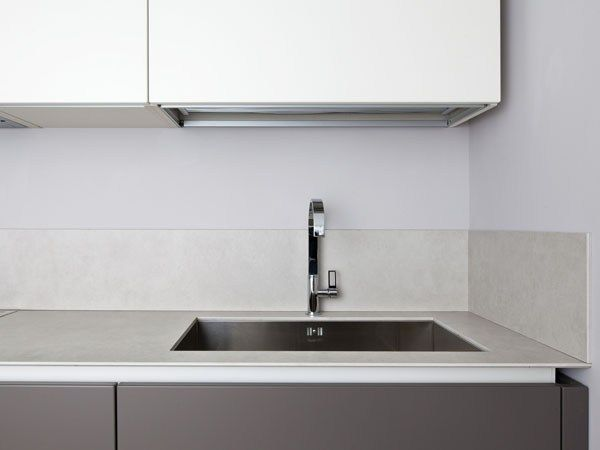 Küchenarbeitsplatte aus Keramik LAMINAM ON TOP by Laminam bunt - keramik arbeitsplatte küche