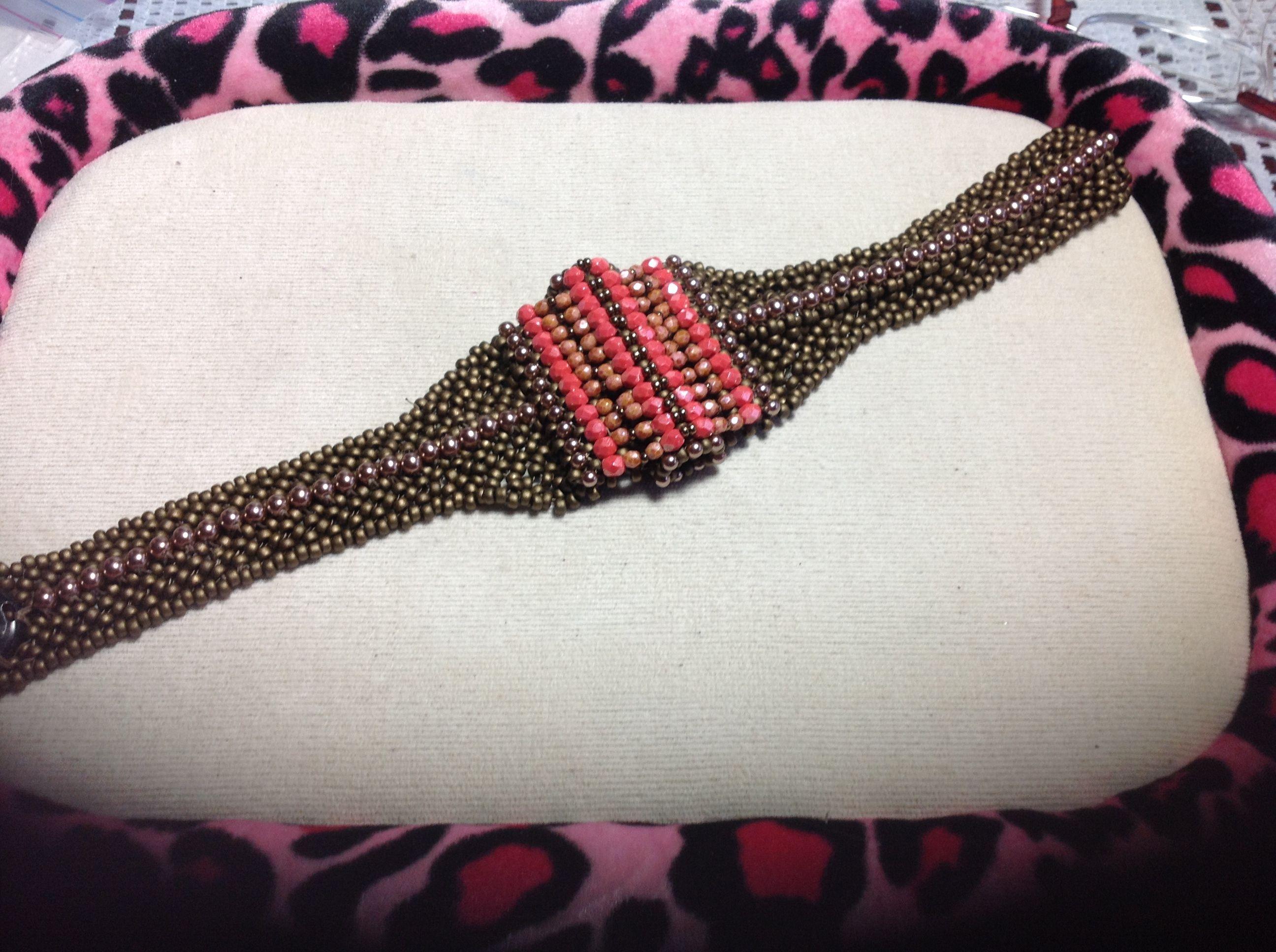 Heart Bead Again designed by Shelley Pleines Nybakke