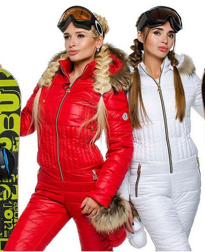 moncler - red and white suits   skisuit guy   Flickr