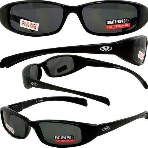 cbe65e0c7fd28 Global Vision New Attitude Sunglasses w  Super Dark Lenses Sunglasses Case