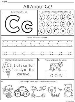 Alphabet Letters AZ (Kindergarten) Kindergarten