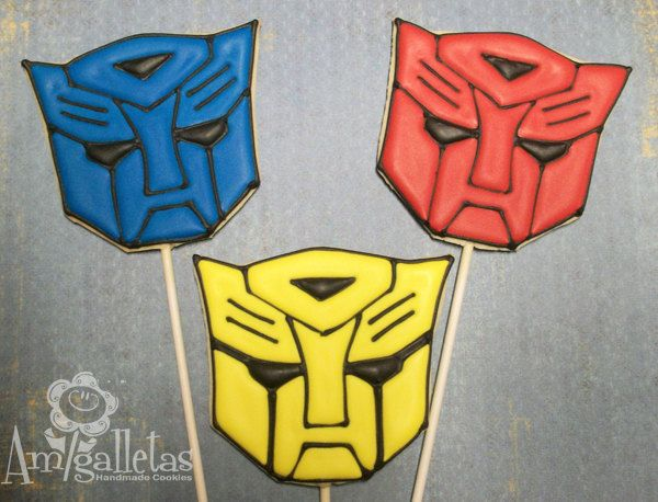 Transformers Cookies One Dozen 35 99 Via Etsy Kids