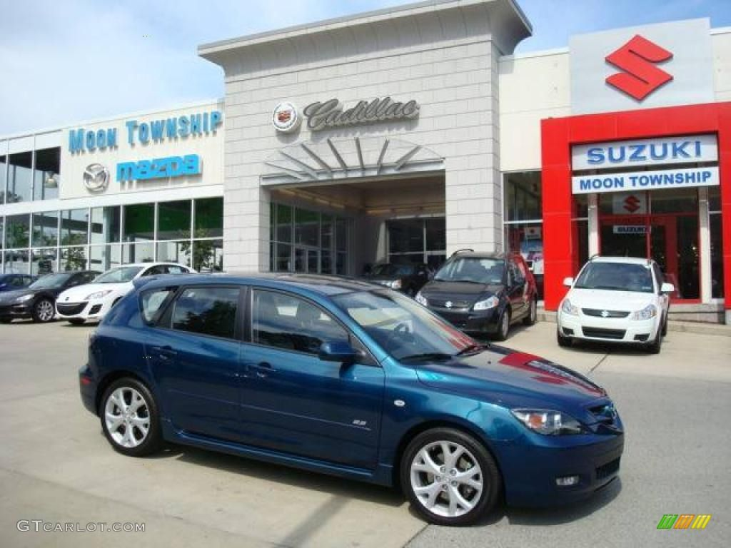 2007 Phantom Blue Mica Mazda Mazda3 S Grand Touring