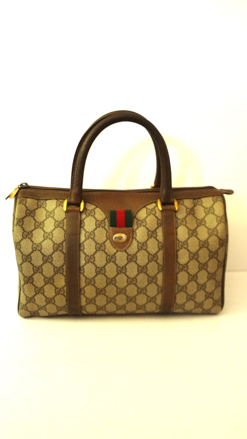6fcb44095f78c Authentic Vintage GUCCI Accessory Collection Speedy Doctor handbag Iconic  tote by DoorstepFashions on Etsy