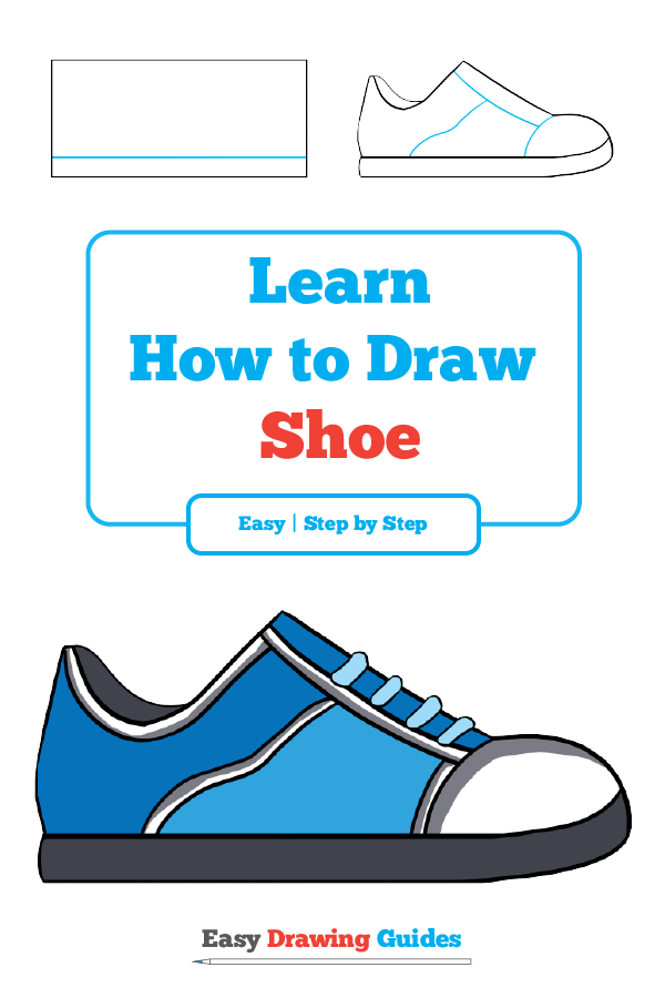 How To Draw A Shoe Really Easy Drawing Tutorial Drawing Tutorial Easy Easy Drawings Drawing Tutorial
