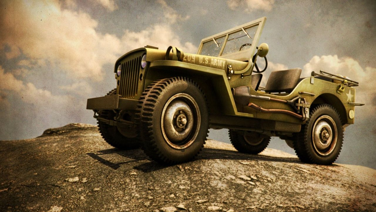 Us Army Military Vehicle Background In 1280x720 Resolution Hd Jeep Willis Jeep Vehiculos Militares