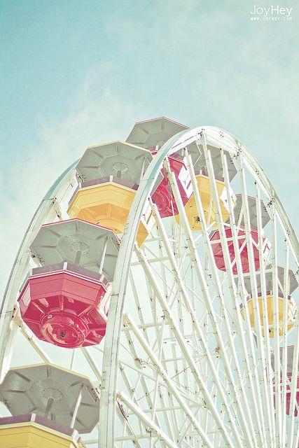 Ferris Wheel Fantasy by JoyHey on Flickr.
