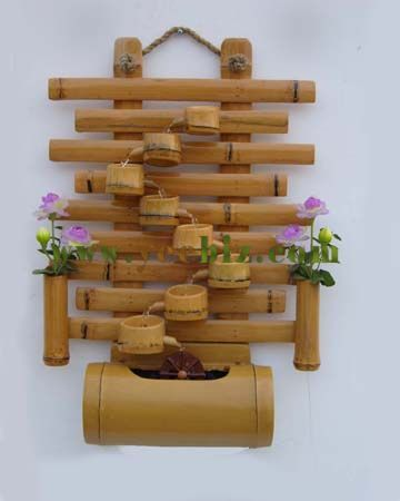 Bamboo foutain s 838 360 450 reclaimed wood for Crafts using bamboo