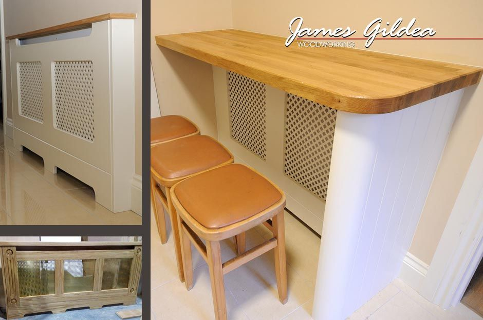 Kitchens With Radiators Breakfast Bar Radiator Cover