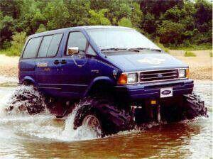 4x4 Van Ford Aerostar Vans