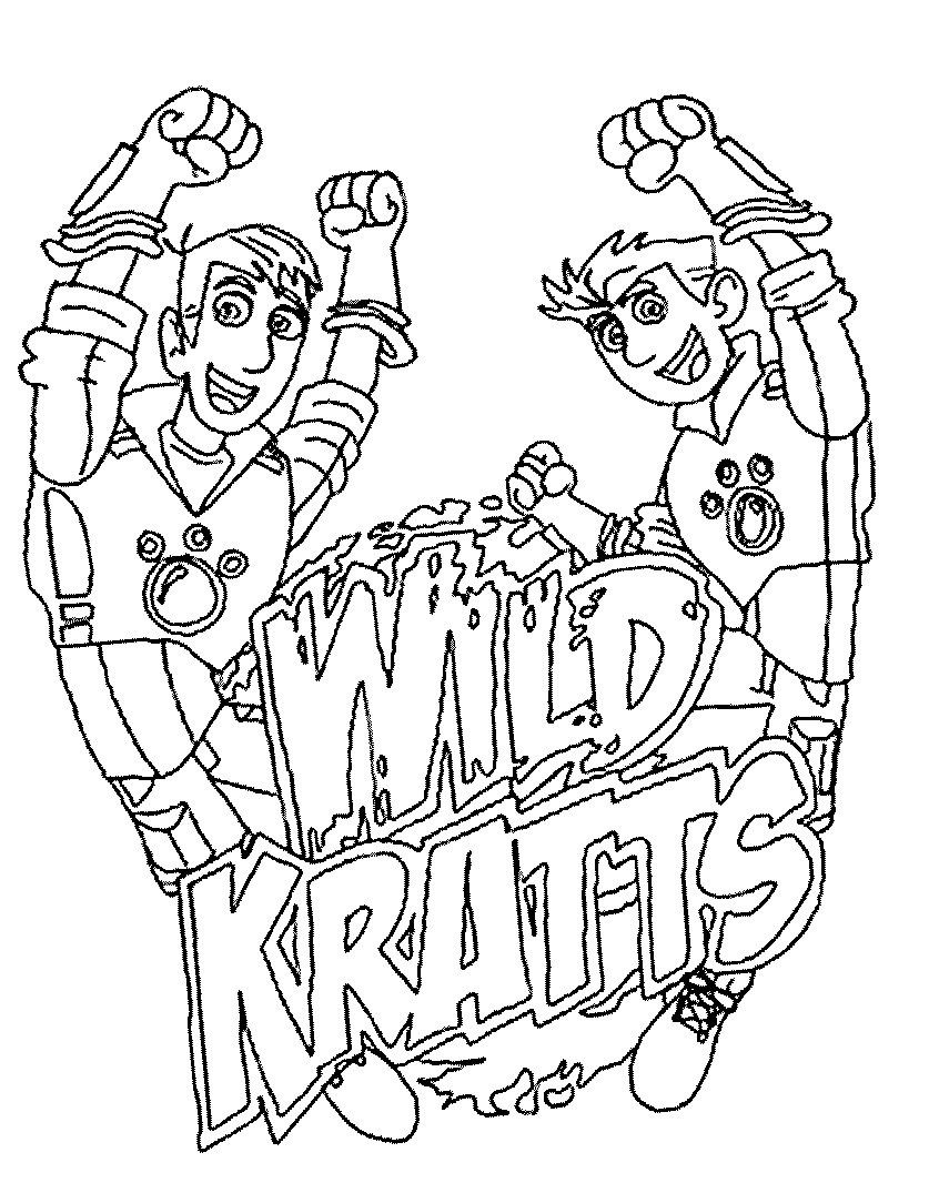 Wild Kratts Coloring And Drawing Wild Kratts Birthday Party Wild Kratts Birthday Wild Kratts