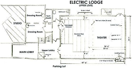 Electric Lodge Upper Floor Plan