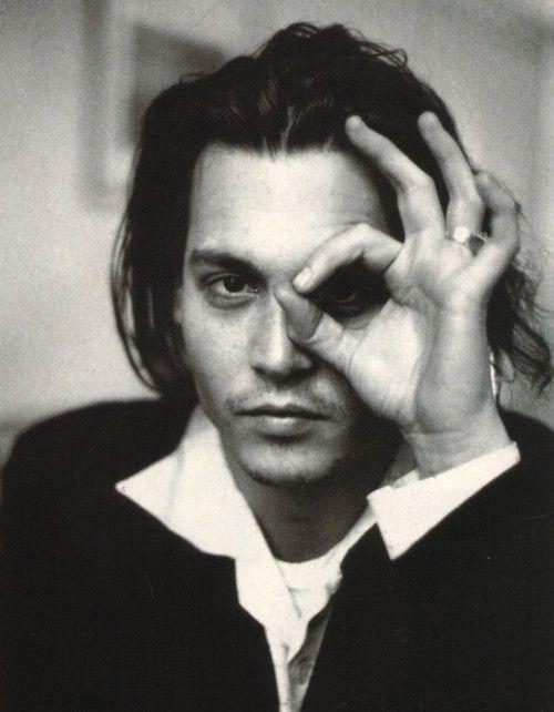 Qué gran actor!! Johnny Depp