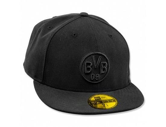 Tonal Black Borussia Dortmund 59fifty Fitted Cap By New Era X Bvb Gorras Accesorios