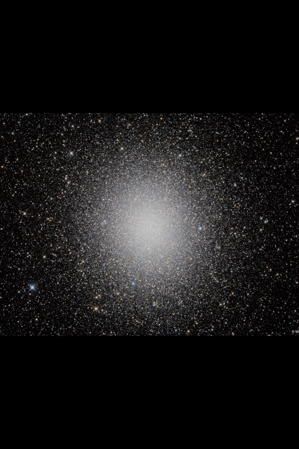 Star Cluster Omega Centauri In Hdr Star Cluster Astronomy Space Pictures