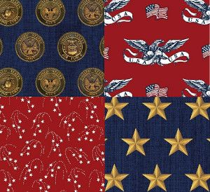 Show your patriotism and enter to win the American Heroes Collection from Windham Fabrics!