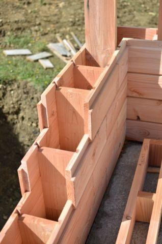 Montez votre maison comme un légo avec des briques en bois