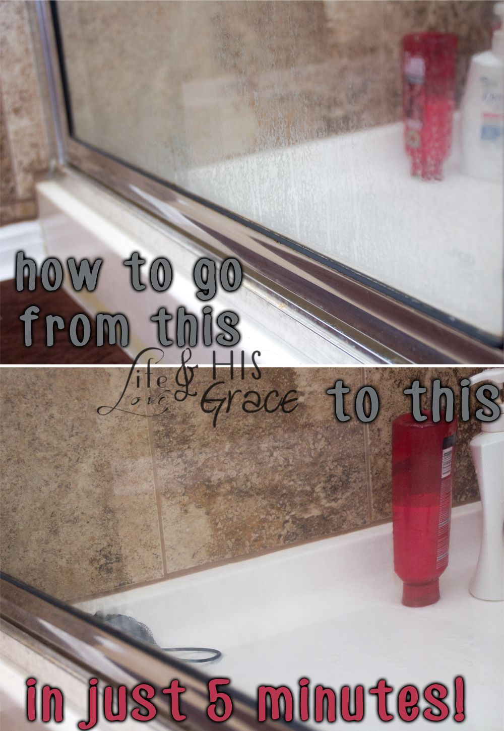 How To Glass Shower Door Soap Scum Removal Cleaning Glass
