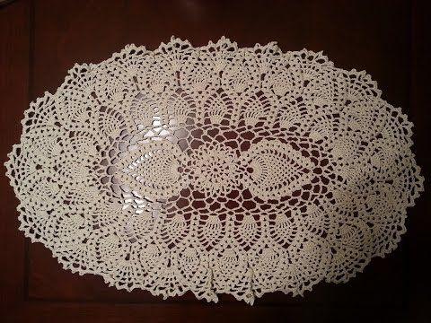 Free Pattern Video Tutorial On Youtube Crochet Linens