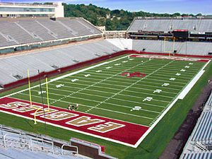 Fall 2012 Boston College Football game