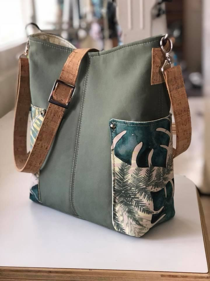 Compass Bag – por Janet Hall en Facebook