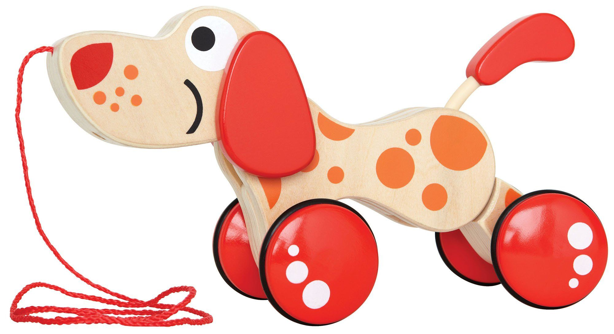 Amazon Hape Walk A Long Puppy Toys & Games