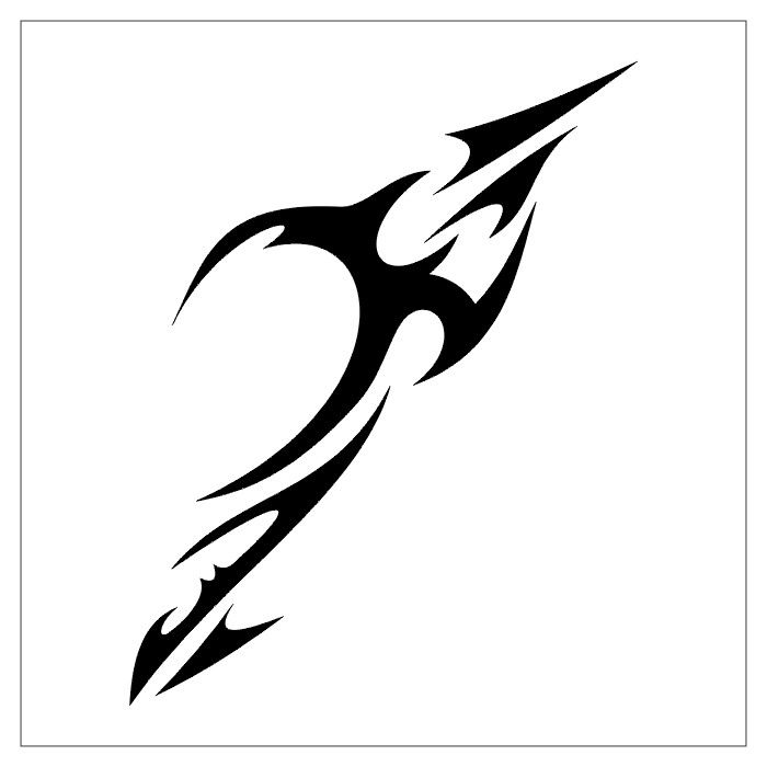 Tribal Symbol For Family Simple tribal tattoos designs